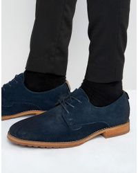 Call It Spring | Edaussi Suede Derby Shoes | Lyst