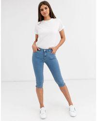 Vero Moda Jeans Capri - Blu