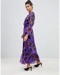 Y.A.S - Bloom Floral Maxi Dress - Lyst