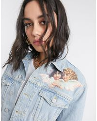 Fiorucci Nico Vintage Angels Denim Jacket-blue
