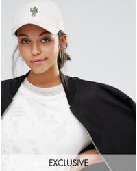 Adolescent Clothing - Cactus Embroidered Baseball Cap - Lyst