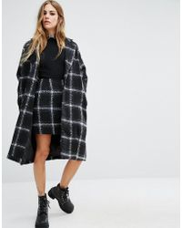 Motel - Checked Wool Ernest Coat Co-ord - Lyst