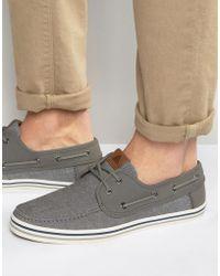 2c3626da32654 Huhha Boat Shoes - Gray
