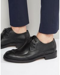 G-Star RAW Guard Leather Derby Shoes - Black