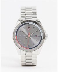 Tommy Hilfiger Серебристые Наручные Часы 1791684-серебряный - Металлик