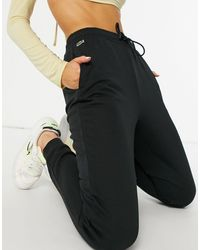Lacoste Черные Классические Джоггеры -черный Цвет
