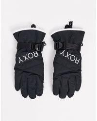 Roxy Jetty - Effen Ski-handschoenen - Zwart