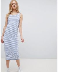 Blend She - Jemima Striped Sleeveless Dress - Lyst