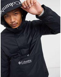 Columbia - Черная Куртка-пуловер Challenger-черный Цвет - Lyst