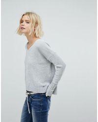 Hollister Chenielle Knit Sweater - Green