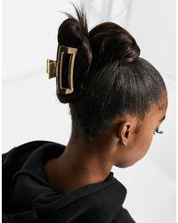ASOS Rechthoekige Haarklem - Metallic