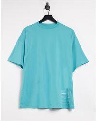 ASOS 4505 - Camiseta extragrande con logo estampado - Lyst