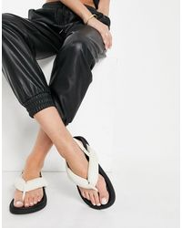 Public Desire Minorca Padded Toe Post Sandals - Multicolour