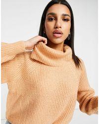Brave Soul Harribo Roll Neck Sweater - Multicolour