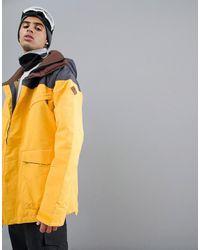 Burton Breach Jacket - Yellow