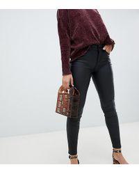 Vero Moda - Coated Skinny Jeans - Lyst