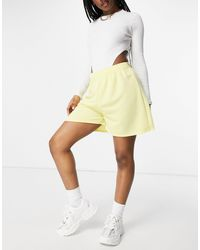 I Saw It First High Waisted Jersey Short - Yellow