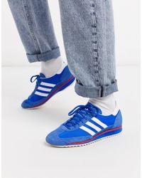 adidas Originals Синие Кроссовки Sl 72-синий