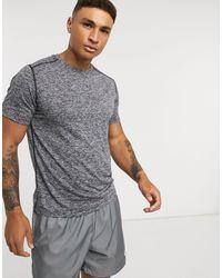 New Balance Running Core - T-shirt grigio mélange