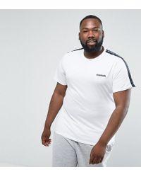 Lambretta Plus Taped T-shirt - White