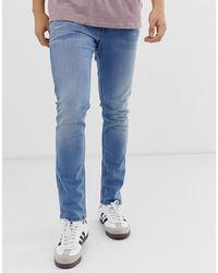 Tom Tailor – Enge Jeans - Blau