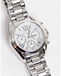 Michael Kors Reloj plateado Bradshaw MK6174 - Metálico