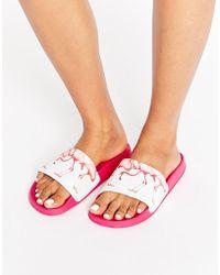 Slydes Flamingo Slider Sandal - Pink