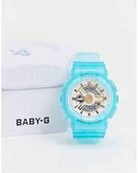 G-Shock Baby G Ba-110sc-2aer Resin Watch - Blue