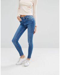 Oasis Ankle Grazer Skinny Jeans - Blue