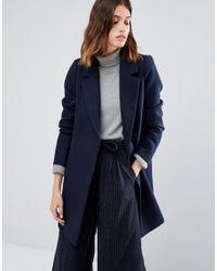 Warehouse | Smart Tailored Coat | Lyst