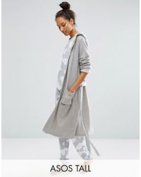 ASOS Hotel Robe - Grey