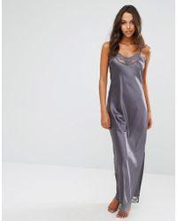 Y.A.S - Maxi Slip Nightdress - Lyst