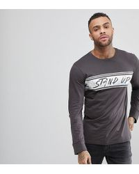 Brooklyn Supply Co. - Skater Stand Up Long Sleeve T-shirt - Lyst