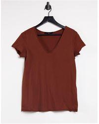 AllSaints Emelyn Tonic V-neck T-shirt - Black