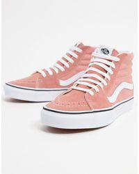 Vans Розовые Кроссовки Ua Sk8-hi-розовый