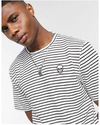 Bolongaro Trevor Camiseta a rayas - Gris