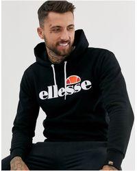 Ellesse Gottero - Hoodie Met Klassiek Logo - Zwart