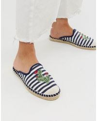 South Beach - Cactus - Instap-espadrilles - Lyst