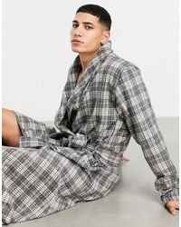 ASOS Lounge Dressing Gown - Gray