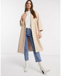 Y.A.S Oversized Coat - Natural