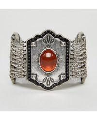 Nylon - Chunky Stone Detail Festival Bracelet - Lyst