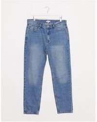 Bellfield Tapered Ripped Jeans - Blue