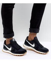 Nike Black And White Internationalist Trainers