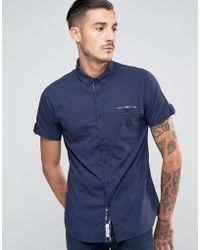 Lambretta - Shirt With Short Sleeves - Lyst