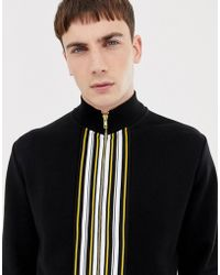ASOS - Co-ord Track Jacket With Striped Taping - Lyst