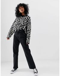 Weekday - Row - Jeans dritti slim - Lyst