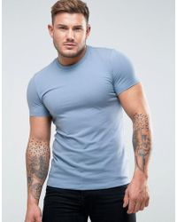 ASOS - Muscle Fit Crew Neck T-shirt - Lyst