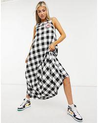 Love Moschino Платье Макси С Нашивкой -многоцветный