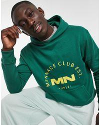 Mennace Club Est Hoodie - Green