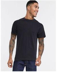 Pull&Bear Join Life T-shirt - Black